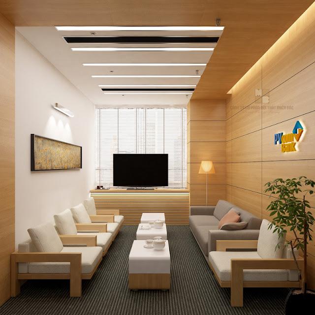 Thiết kế nội thất phòng họp sang trọng không gian đẳng cấp