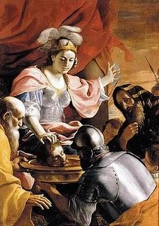 """""""A cabeça de Ciro trazida à Rainha Tomiris"""", quadro do pintor barroco Peter Paul Rubens"""