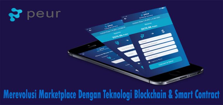 ICO Peur - Merevolusi Marketplace Dengan Teknologi Blockchain & Smart Contract