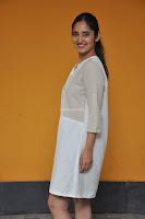Radhika Cute Young New Actress in White Long Transparent Kurta ~  Exclusive Celebrities Galleries 082.JPG