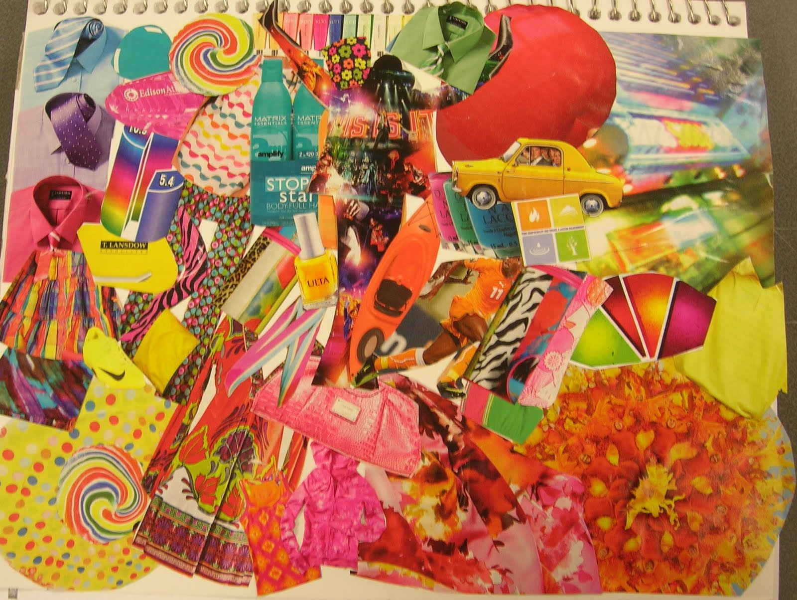 Assemblage: Collage Themes for your sketch book