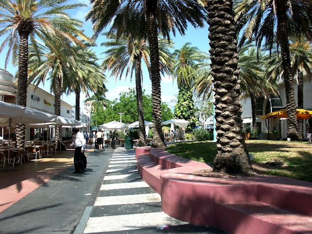 Avenida Lincoln Road em Miami