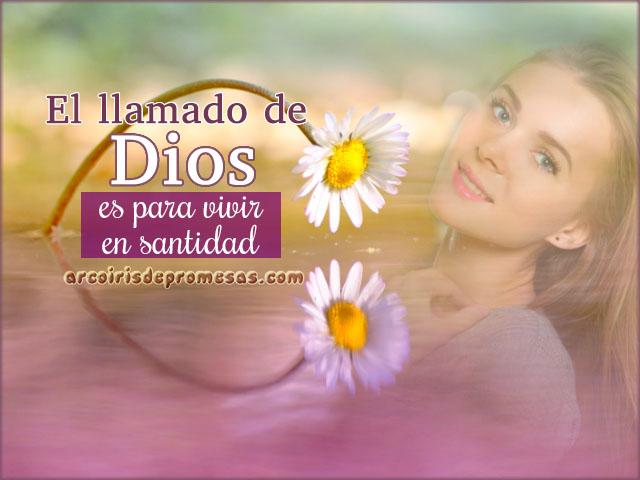 qué es vivir en santidad mensajes cristianos con imágenes
