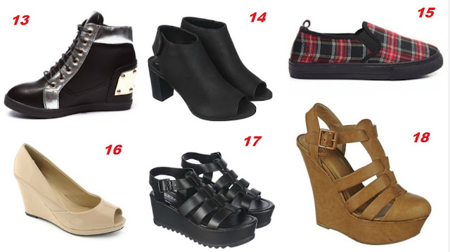 Back to School Fashion: Shoes under $15
