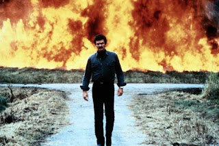 Burt Reynolds Malone 1987 Explosiion Walk