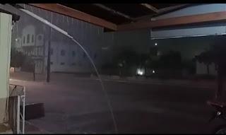 VEJA VÍDEO: Volta a chover forte no Cariri paraibano