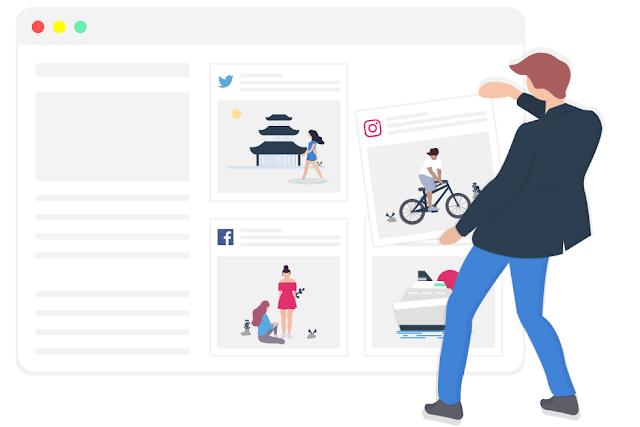 Cara Memasang Widget Instagram di Blog dengan SnapWidget