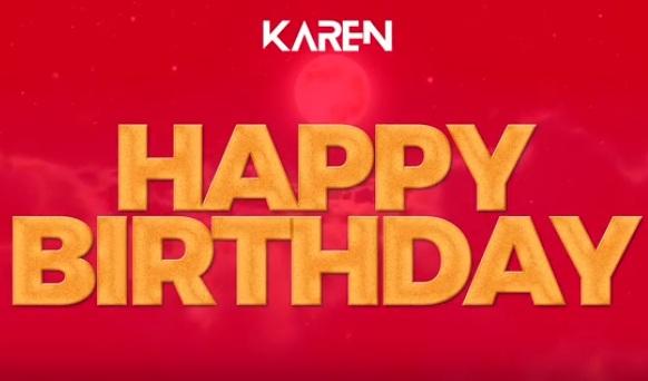 Download new Audio by Karen - Happy Birthday