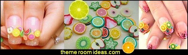 fruit nail designs - fruit nail art fruit slice nail art design ideas