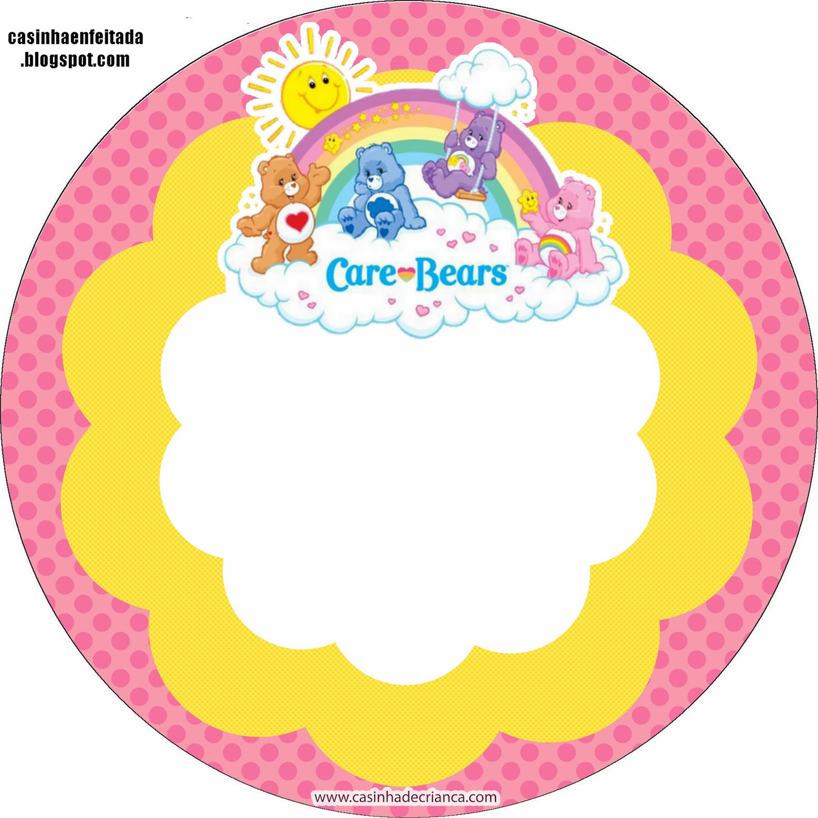 Care Bears Free Printable Kit