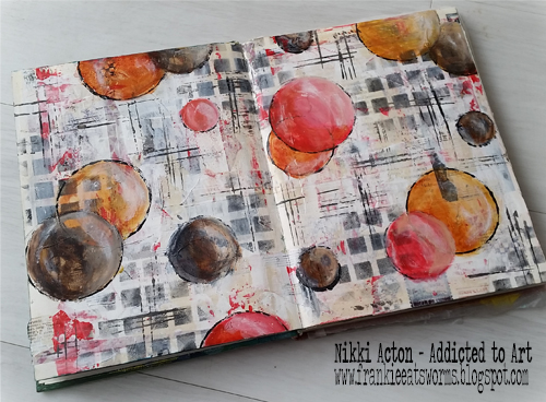 Addicted to Art - Circles - Art Journal