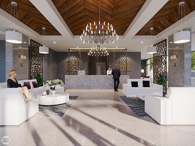 High-Rise Apartment Lobby, Kuwait
