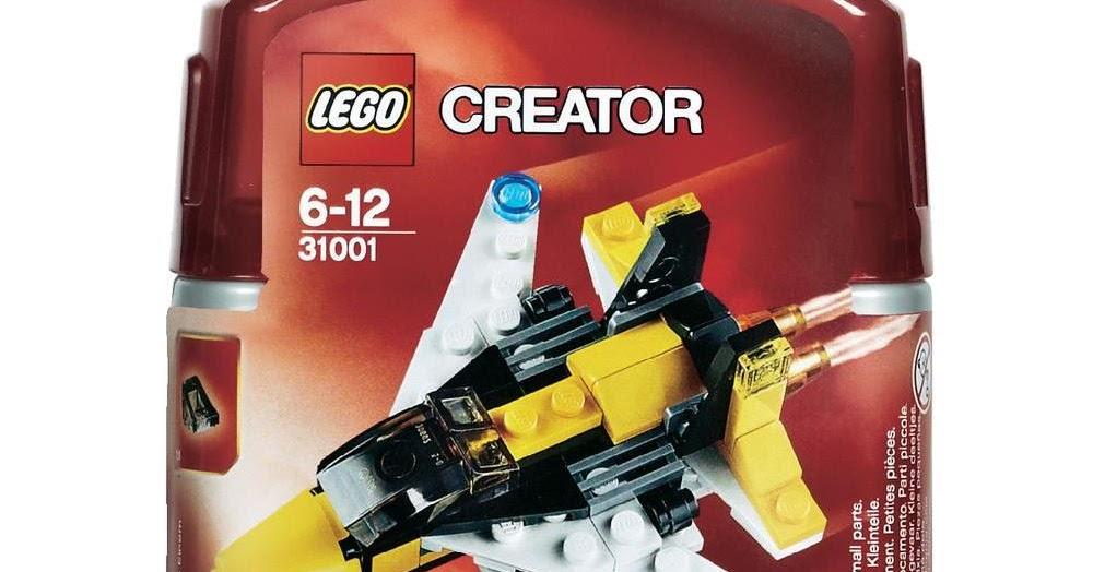 Bricks Fix Lego Creator 31001 Mini Skyfighter Review