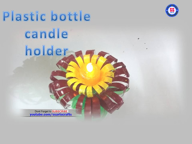 Here is Plastic bottle crafts,plastic bottle turned in to show piece,how to recycle crafts with plastic bottle,best out of waste craft ideas,plastic bottle lamps,plastic bottle tree,plastic bottle wall hangings,plastic bottle wind chimes,how to make plastic bottle flowers led lamp candle holder
