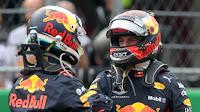 Daniel Ricciardo Max Verstappen Red Bull F1 Grand Prix Meksyku 2018