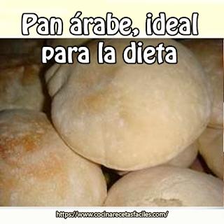 Pan árabe, ideal para la DIETA✅o para los que simplemente desean comer sano, se caracteriza por ser un pan con escasa miga. Hoy te instruyo cómo hacerlo. ¡Manos a la obra!