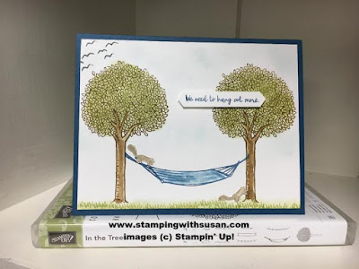 Stampin' Up! In the Trees Stampin' Up! Blender Pens Classic Label Punch