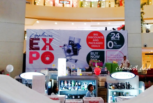 Appliance expo, Anson's, Appliances, Trinoma