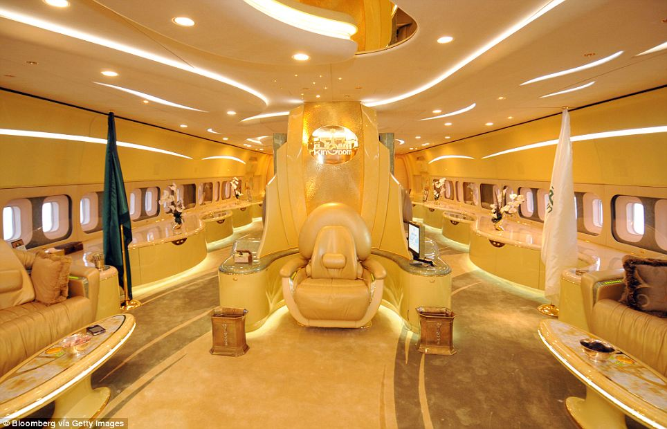 .Photos-A rare glimpse inside the Private jets of some of ...