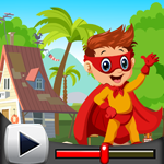 G4K Superhero Boy Rescue Game Walkthrough