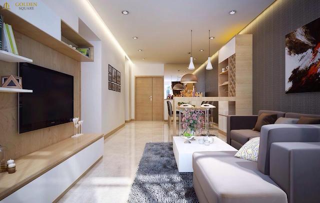Phòng khách dự án Golden Square Đà Nẵng