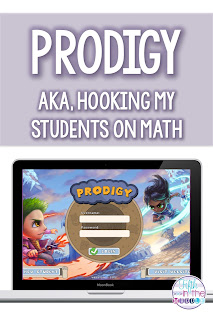 Prodigy is a FREE math website that gamifies math in a very engaging way!