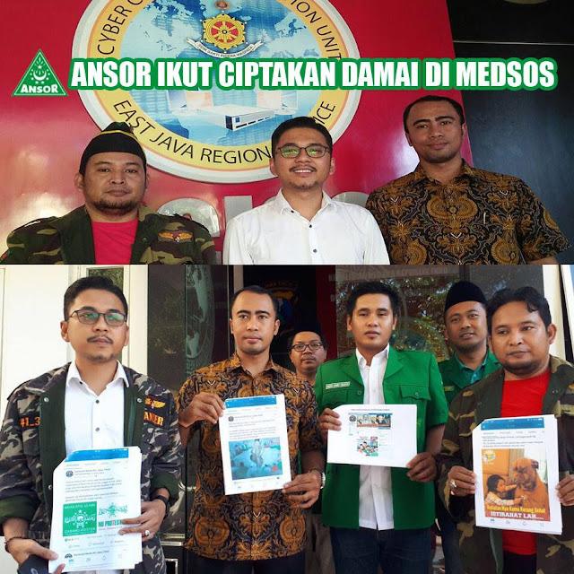 """Akun Penista Ulama """"Generasi Muda NU Jawa Timur"""" Resmi Dilaporkan ke Polisi"""