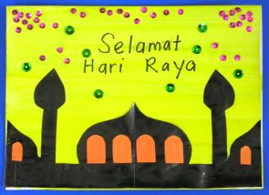 Homemade Hari Raya Crafts For Kids Parenting Times