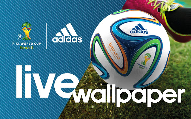 Celebrate the spirit of 2015 World Football with the official Adidas 2015 World Football Live Wallpaper and Clock Widget ap