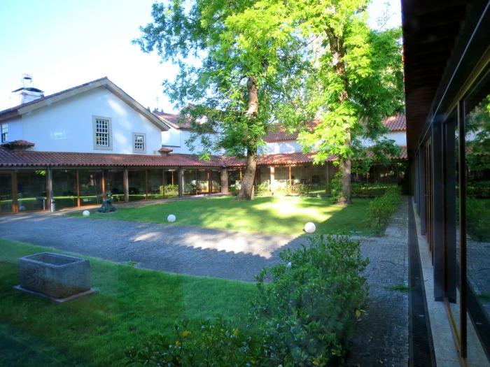 Casa da Ínsua- Inside yard