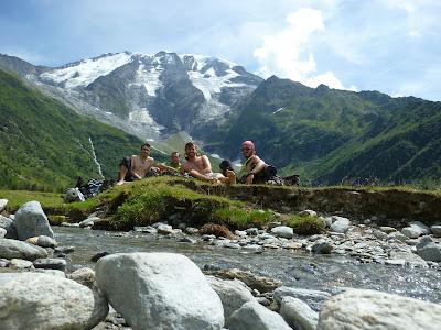 Les Dames de Miaje Tour del Mont Blanc