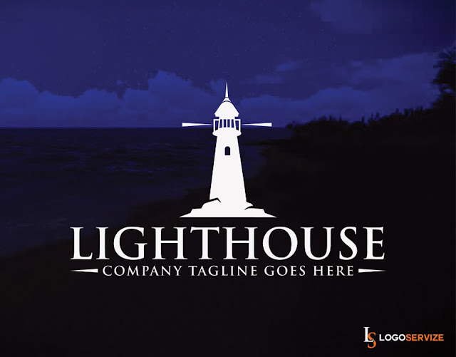 Lighthouse Creative and Professional Logo Design
