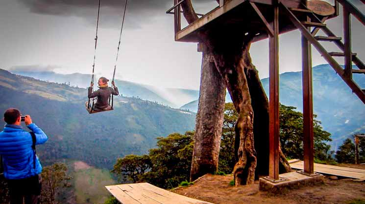 Sitios turísticos Miradores turísticos naturales de Ecuador