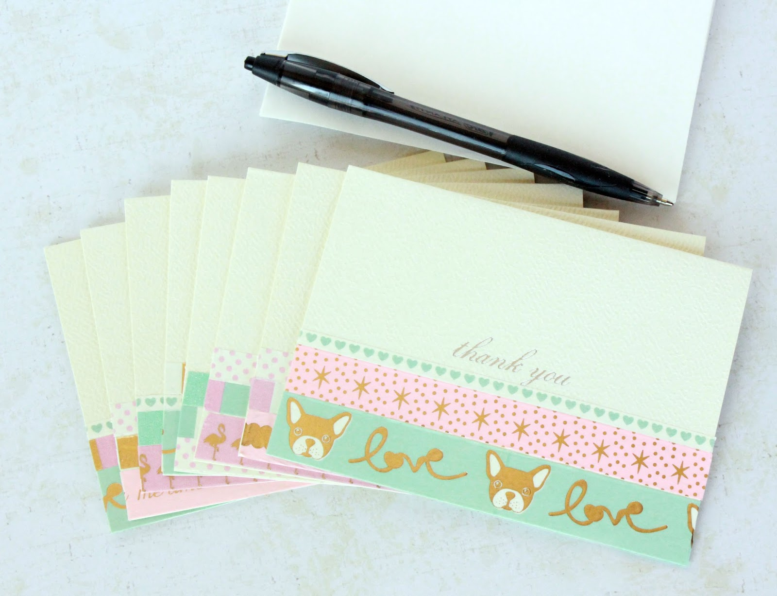 coupon sahm i am e a s y washi tape thank you note cards