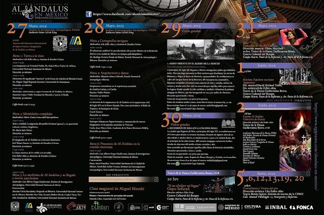 Primer Encuentro Internacional Supervivencias e Imaginarios de Al Ándalus en México