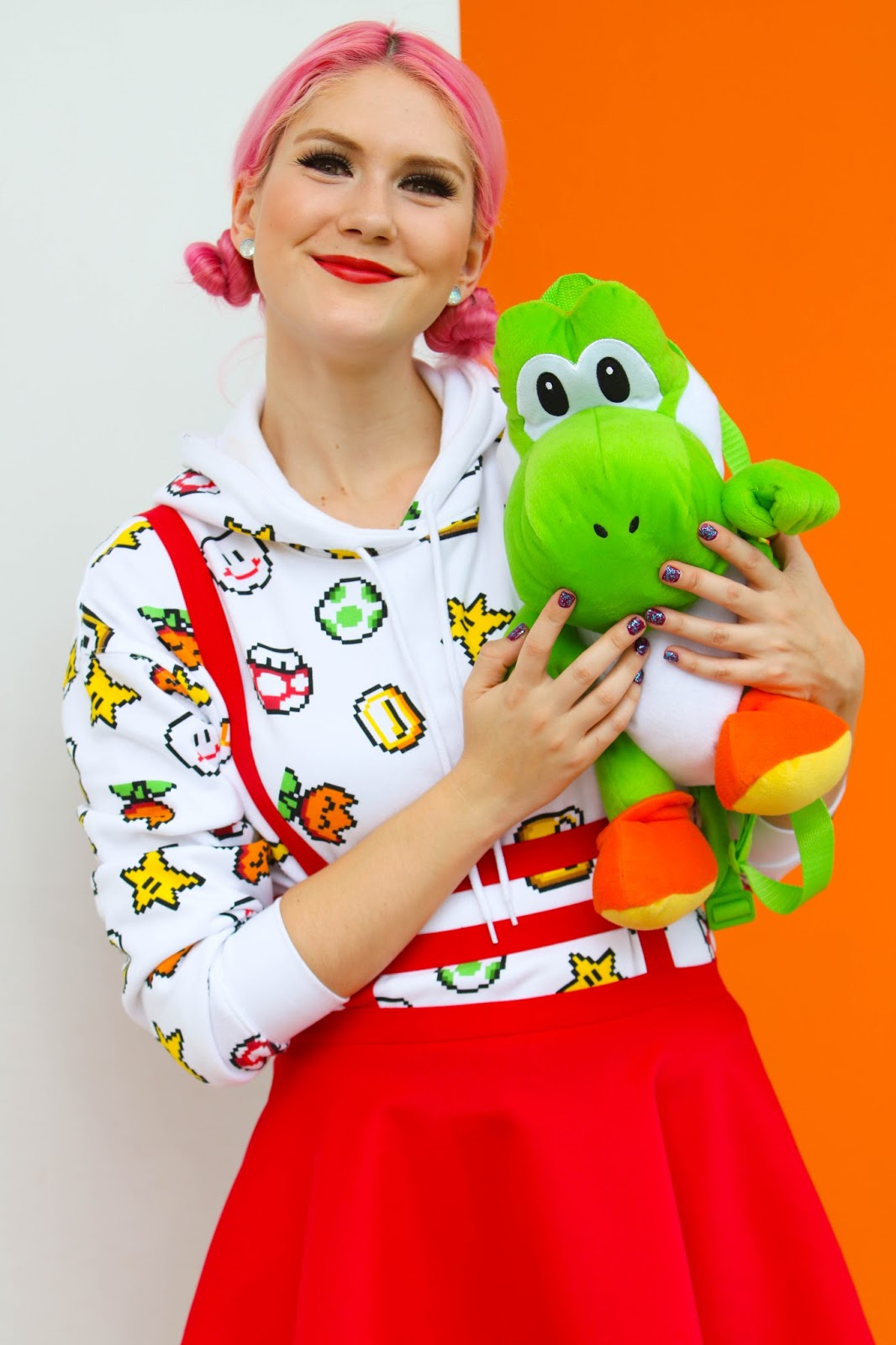 Geek Chic Mario Bros Outfit