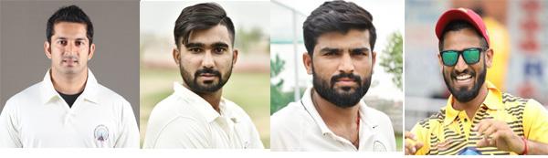 हरियाणा रणजी टीम में दा क्रिकेट गुरुकुल के चार क्रिकेटर टीम मैं शामिल