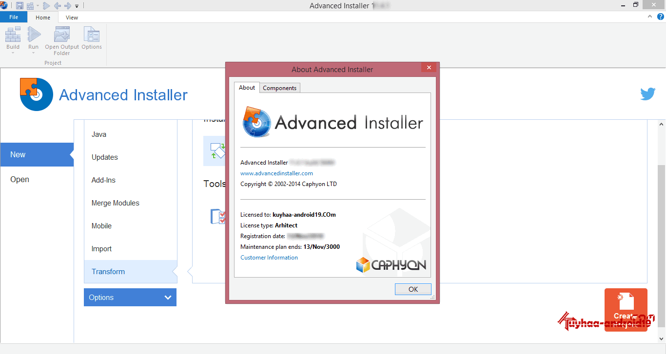 Advanced Installer Arsitect