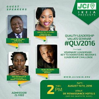 Lessons from JCI Ikeja's 2016 Quality leadership values seminar