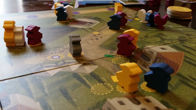 Viticulture essential edition board game review