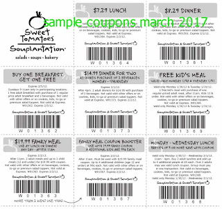 Sweet Tomatoes coupons march 2017