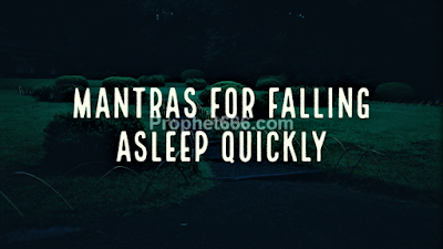 Mantras for Falling Asleep Quickly and Removal of Insomnia