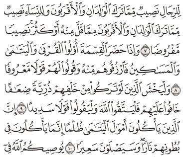 Tafsir Surat An-Nisa Ayat 6, 7, 8, 9, 10