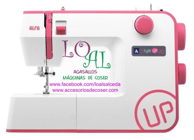 maquina de coser alfa style 20 up