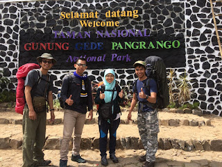 Pendakian Gunung Pangrango