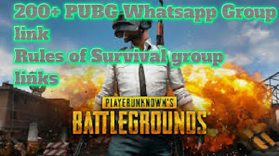 Pubg whatsapp group links