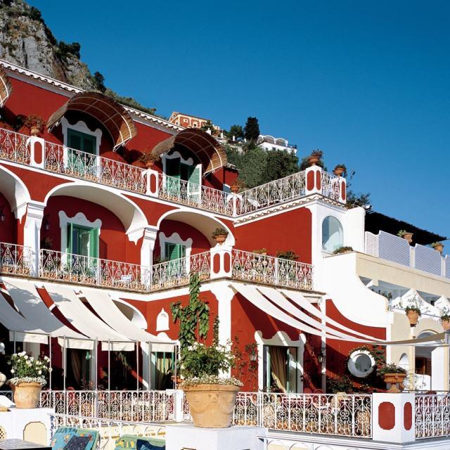 Hotel Le Sirenuse w Positano