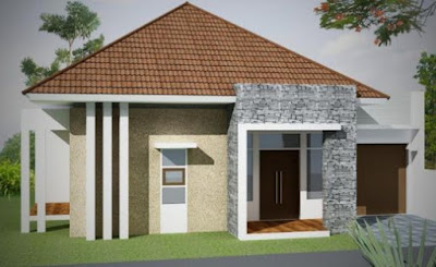 model atap rumah sederhana type 36