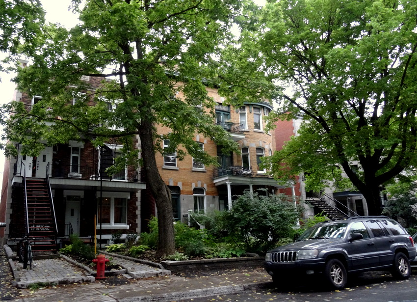 Montreal, Canada: Hip Apartments of Le Plateau Mont-Royal ...