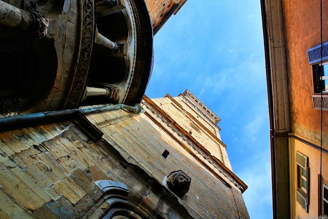 Turnul Bisericii Santa Maria Maggiore - blog FOTO-IDEEA